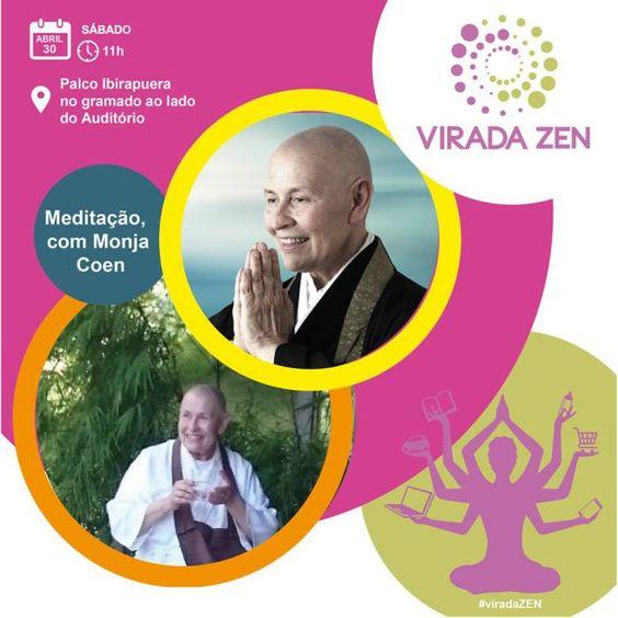 Meditação com Monja Coen – Yoga com Merikol – Inspirar Ser