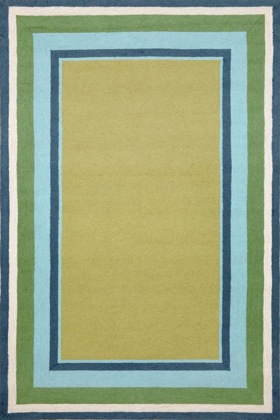 Trans-Ocean Imports NWP81166104 Newport Collection Sage Finish Everywear Rug