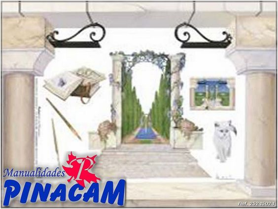 Disponible en www.manualidadespinacam.com  #manualidades #pinacam #papeldearroz #decoupage
