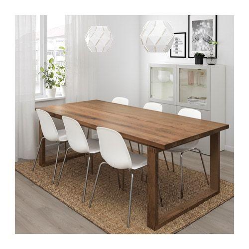 Morbylanga Leifarne Table And 6 Chairs Brown White Ikea Ikea Dining Room Ikea Dining Ikea Dining Table