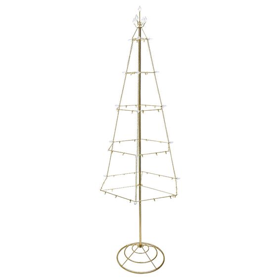 "55"" Gold Artificial Christmas Tree"