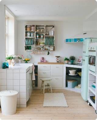 Love the dish shelf unit