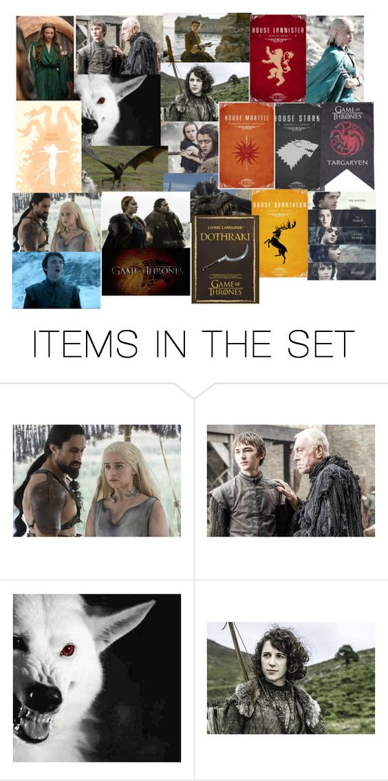 """Game of thrones"" by katmccreery ❤ liked on Polyvore featuring art"