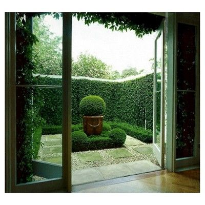 Greensmart Decor Artificial Ivy Panel Set of 4 - Green