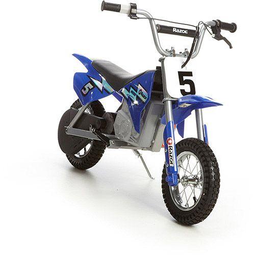 Razor Mx350 24v Dirt Rocket Electric Ride On Motocross Bike Black Walmart Com Dirt Bikes For Kids Motocross Bikes Electric Dirt Bike