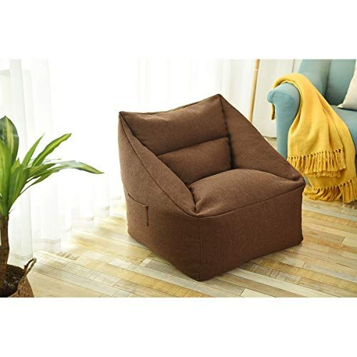 Amazon Com Chx Single Sofa Chair Chair Bedroom Small Sofa Balcony Single Chair C Color Pink Kitchen Dining Small Sofa Chair Single Chair
