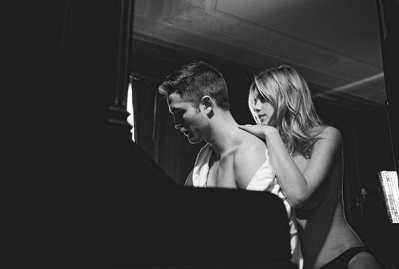 """Dior Homme """"the film"""" Robert ´Pattinson and Camille Rowe"""