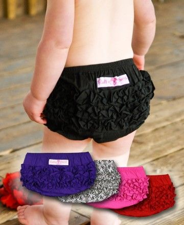 Diaper covers....adorable!!!    these would come in handy right now since Aria is at the stage where she's taking hers OFF!!