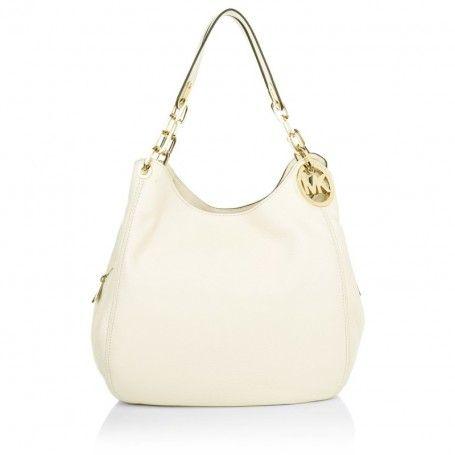 Michael Kors Tasche – Fulton LG Shoulder Tote Ecru – in beige – Henkeltasche für Damen