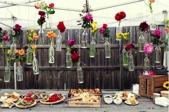 decoration buffet chic champetre ou vintage pour un. Black Bedroom Furniture Sets. Home Design Ideas