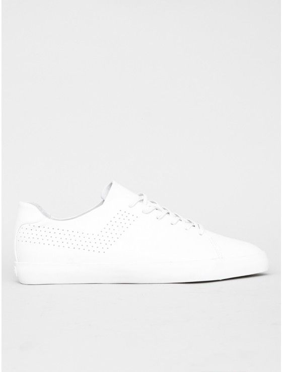 Greenwich Leather Sneaker in White