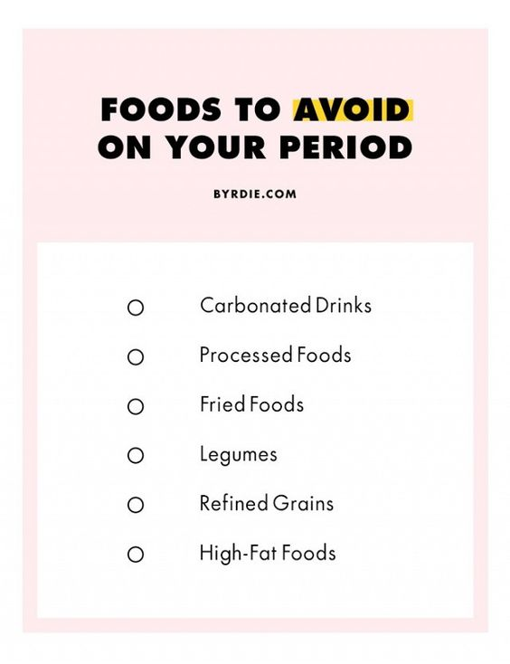 On Your Period? The Foods to Eat (and Avoid) | Byrdie UK