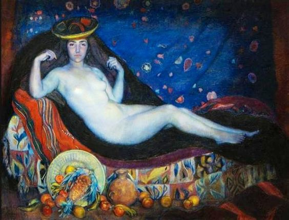 lfredo Guido - La Chola, 1924. Oil on canvas. Museo Municipal de Bellas Artes Juan B. Castagnino, Rosario, Santa Fe, Argentina