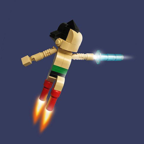 Lego Astro Boy: Geek, Atom Toys, Art Toys, Astroboy Jpg 800, Lego Astroboy Jpg, Boy Fredoichi