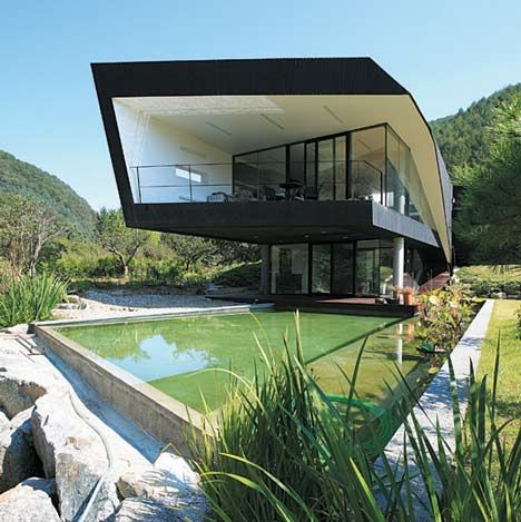 Villa Topoject by AND: Novel Differentiation, Dream House, Interesting Architecture, Architecture Dream, Architecture Arquitectura, Outdoor Area, Architecture Amazing, Architecture Design