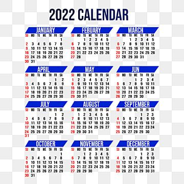 Psd Calendar 2022.Gambar Kalender Dinding Satu Halaman Warna Biru Desain Template Kalender 2022 Kreatif Kalender Kalender Kreatif Png Transparan Clipart Dan File Psd Untuk Und Desain Kalender Kalender Template