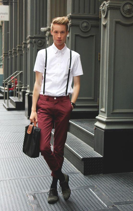 Outfit für schlanke männer