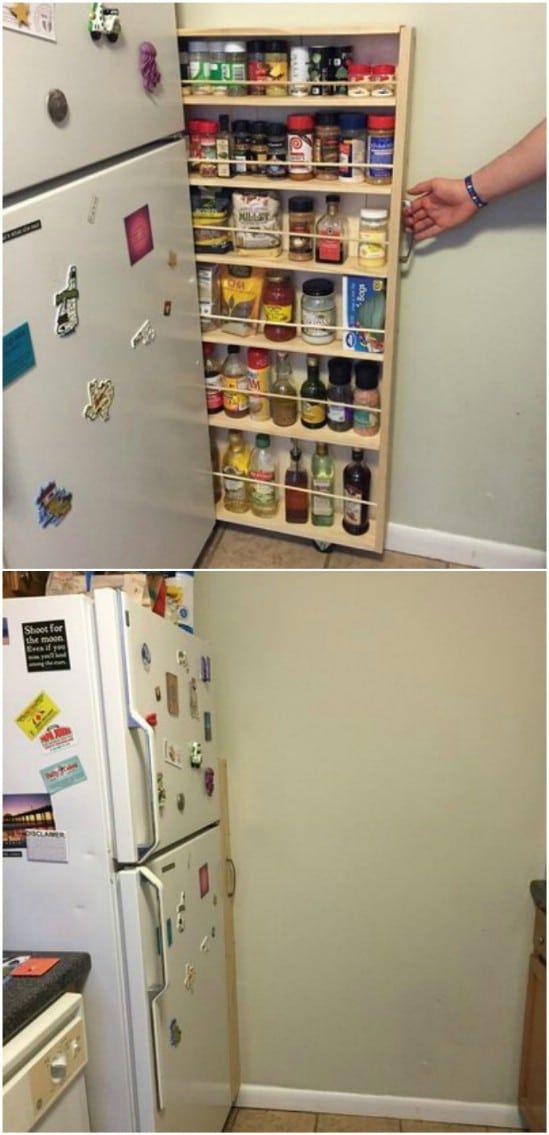 35 Space Saving Diy Hidden Storage Ideas For Every Room Diy Hidden Storage Ideas Diy Space Saving Small Apartment Storage