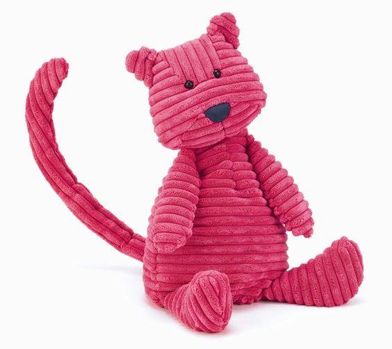 Cordy Roy Katze Breitcord Kuscheltier von Jellycat - Bonuspunkte sammeln, auf Rechnung bestellen, DHL Blitzlieferung!
