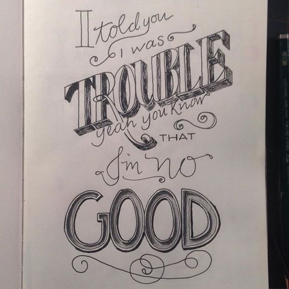 Done. #drawing #practice #process #tools #lettering #handlettering #handtype #The100DayProject #100daysoflyricsinmyhead #amywinehouse #lyrics 6/100