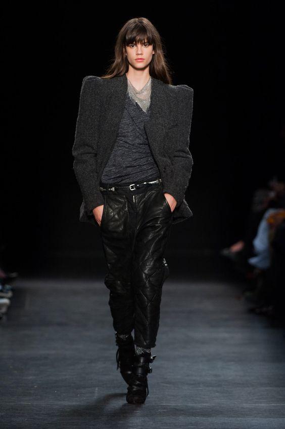 Isabel Marant | Paris | Inverno 2015 RTW (all black <3)