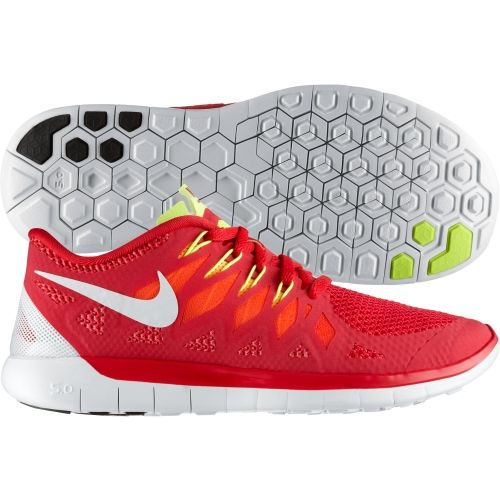 Nike Free 5.0 Womens Running Shoes Red