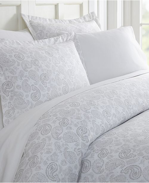 Ienjoy Home Tranquil Sleep Patterned Duvet Cover Set By The Home Collection King Cal King Reviews Duvet Covers Bed Bath Macy S Duvet Cover Sets Duvet Covers Luxury Duvet Covers