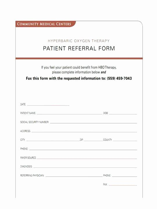 Client Referral Form Template In 2020 Certificate Templates