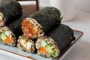 Quinoa Sushi Rolls #vegan