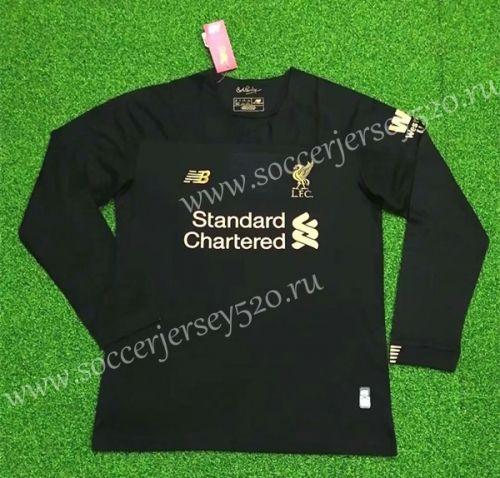 2019 20 Liverpool Goalkeeper Black Thailand Ls Soccer Jersey Aaa 418 Liverpool Goalkeeper Soccer Jersey Goalkeeper