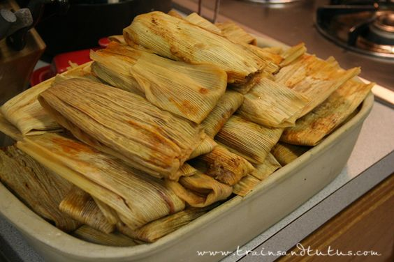 Tamales, Homemade tamales and Tamale recipe on Pinterest