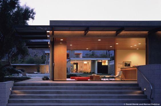 New poolhouse at Kaufmann House