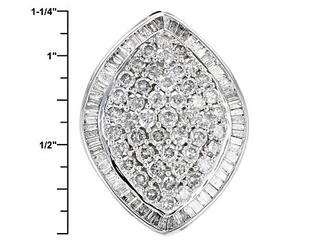 White Diamond 10k White Gold Ring 4 00ctw Rgd077 White Gold Rings White Gold Diamond
