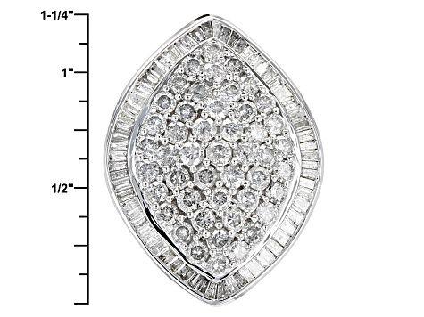 White Diamond 10k White Gold Ring 4 00ctw Rgd077 White Gold Rings White Gold Diamond