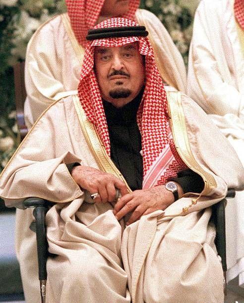 Saudi King Fahd Is Seen 22 January 1999 In Riyadh In 2021 Saudi Arabia Culture Riyadh Saudi Arabia News