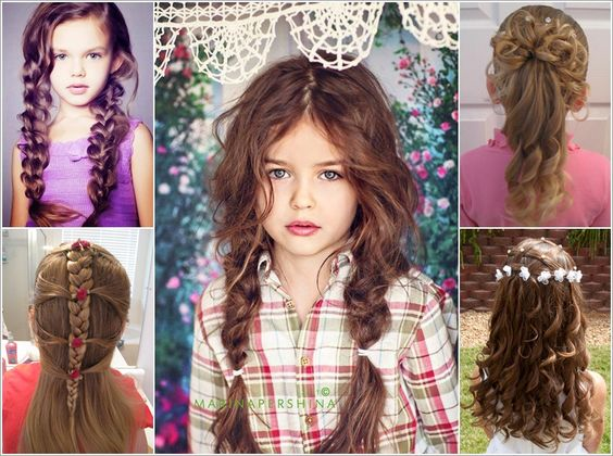 STYLISH HAIRSTYLE IDEAS FOR LITTLE GIRLS WITH LONG HAIR