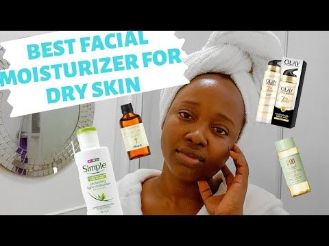 Best Facial Moisturizer For Dry Skin My Morning Skincare Routine For Dry Sensitive Black Sk In 2020 Morning Skin Care Routine Dry Skin On Face Night Skin Care Routine