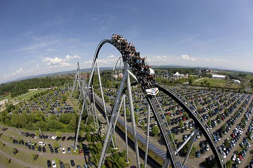 Silver Star: 73 m. high. Take the last seats for extra air time.