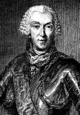 Louis Antoine de Gontaut-Biron, VI Duc de Biron, Pair de France, Maréchal de France (1700 - 1788), Chevalier des Ordres du Roi.