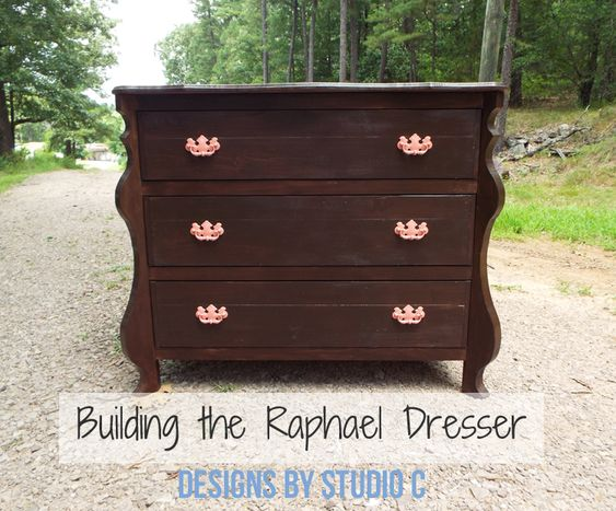 The Finished Version of the Raphael Dresser Plans with D. Lawless Hardware