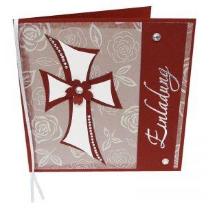 Einladungskarten konfirmation eine wundersch ne idee zum for Kommunionkarten selber basteln