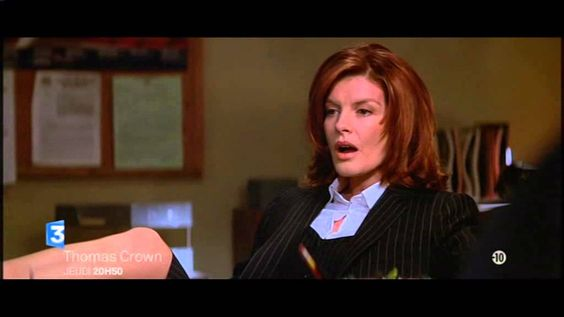 Thomas crown jeudi 20h50 rene russo pierce brosnan 25 12 2014 ...