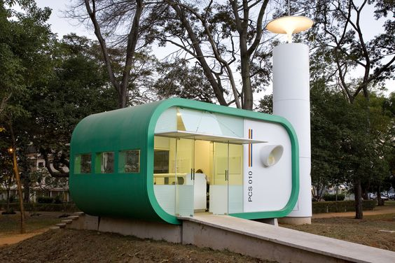 Galeria de Posto Comunitário de Segurança / Sérgio Roberto Parada Arquitetos…