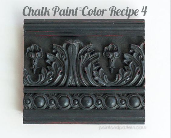 Chalk Paint Colors, Paint Patterns And Moldings On Pinterest