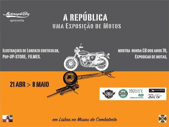 Motorcycle+Boy+apresenta+uma+exposição+de+motos:+A+REPÚBLICA