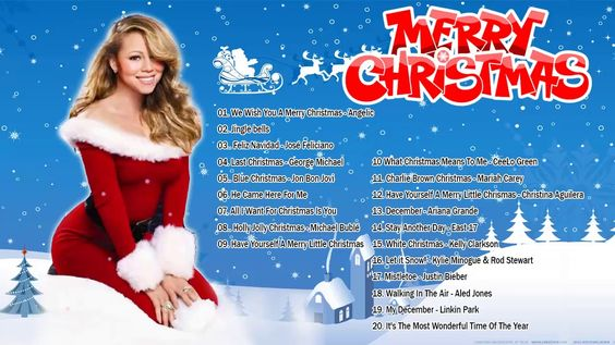 Canciones Navideñas En Ingles Musica De Navidad En Ingles 2019 Canci Best Christmas Songs Christmas Music Mariah Carey Christmas Song