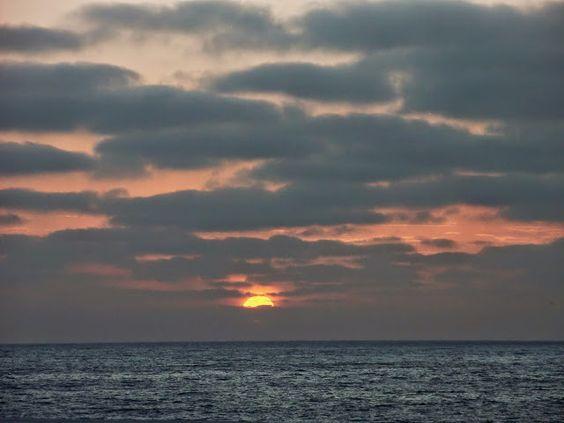 Desde las Islas Canarias  ..Fotografias  : Amaneciendo en Maspalomas Gran Canaria