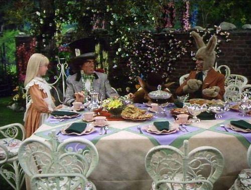Image Result For Mad Hatters Tea Party Scene Alice In Wonderland