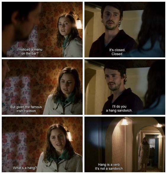 LOL. Leap Year @katelynrutt  this is slowly becoming my favorite movie