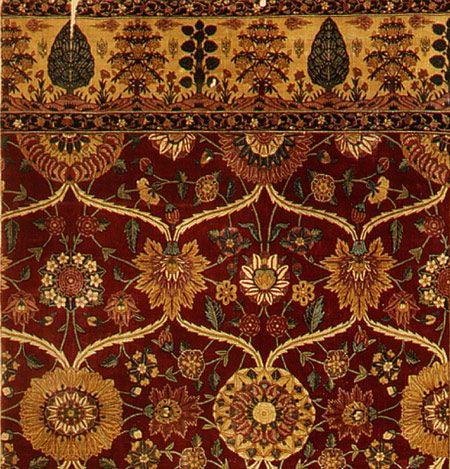 Carpet 1650 Rug Asymmetrical Knots Dynasty Forward